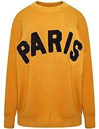 Moocci Womans Paris Oversized Jumper All Colours New Genuine /& Free P/&P