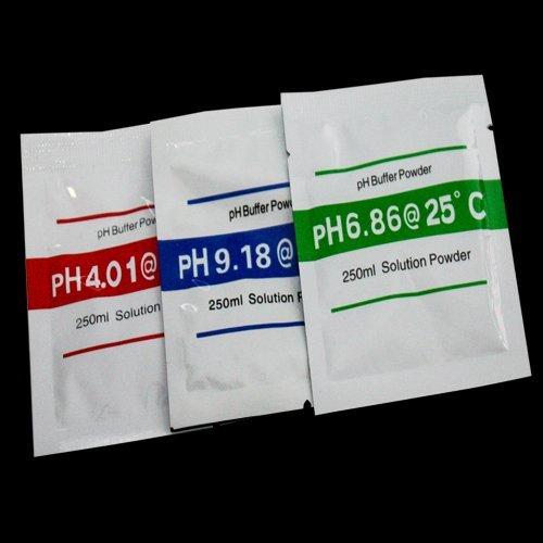 Pulver zur Herstellung von je 250ml Kalibrierflüssigkeit für PH Messgeräte 3x2g FL6 (Ph-kalibrierflüssigkeit)