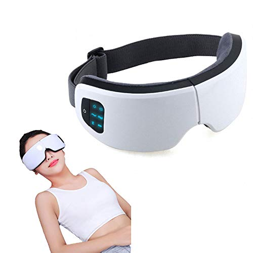 Drahtlose Eye Massager luftkompression Augenschutz-Instrument Bluetooth Intelligent Vibration Heiz Brille zusammenklappbar wiederaufladbare Schutz-Vision Relief Müdigkeit Ablehnung dunkler Kreise