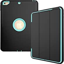 New iPad 9.7 Inch 2017 Funda,HAVE1SEE Auto Sleep Wake with Leather Stand Funda Apple iPad 9.7 2017 5th Generatio Light Blue