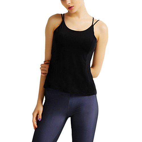 Zhhyizhi Sexy Ladies Workout Quick dry Vest mozione Wear Yoga Fitness Excerise Top