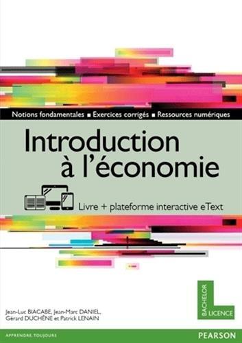 Introduction à l'économie (livre + version numérique enrichie)