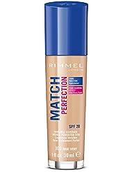 Rimmel - Match Perfection - Fond de teint liquide - True Ivory (Ivoire) - 30 ml