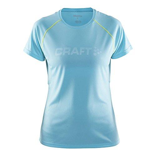 Craft Damen Funktionsshirt Prime Short Sleeve Tee bleu