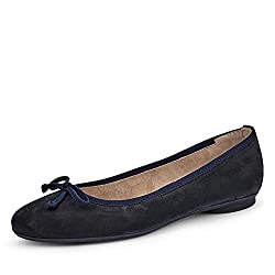 Paul Green 2598 Damen Ballerinas Blau, EU 37,5