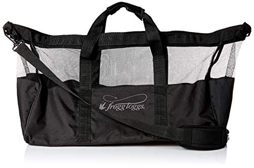 Frogg Toggs Wader Bag, Unisex-Erwachsene, 29000-SM, schwarz, Small Dry Wader Bag