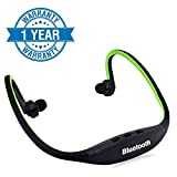 Enraciner Bs19C Bluetooth Sports Headset with Micro Sd Card Slot for All Latest