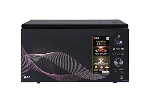 LG MJEN326UH All in One Microwave Oven (Black)