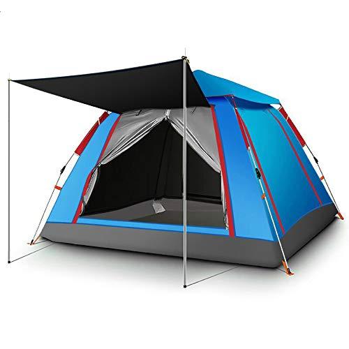 Spfree Instant Pop Up Camping kuppel Zelt 3-4 Personen Automatische Einrichtung Familie wasserdichte Schutzhütte für Outdoor Wandern