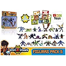 IMC Toys 30039 - Pack 5 Figuras Invizimals