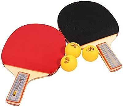 Tera Tabla Raqueta de Tenis Mesa de Ping Pong Raqueta y Red para Tenis de Mesa