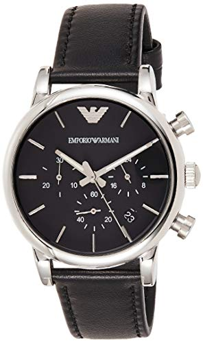 Emporio Armani Herren-Uhren AR1733, 41 mm, schwarz