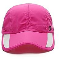 Boundless Voyage tapas Adult Fashion Béisbol mutze tapas Hute Adjustable Sun Caps Trucker Cap, Unisex, rose red