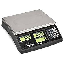 Gram 0004474 Balanza Cuentapiezas de Alta Conectividad, Fabricada en Plastico ABS de Alta Resistencia,