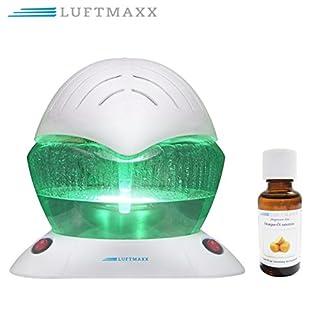 LUFTMAXX Lufterfrischer Water Air Freshener Kugel Ball Luftreiniger inkl 1 x Duftöl Orange 30 ml