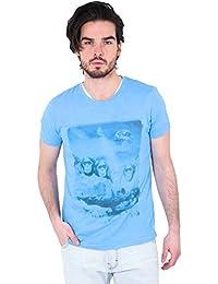 Tee Shirt Mc Isim Freesoul Bleu
