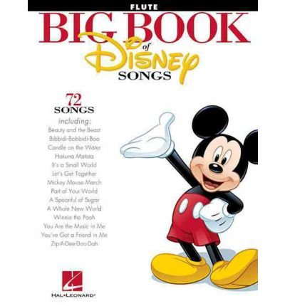 [(The Big Book of Disney Songs: Flute)] [Author: Hal Leonard Publishing Corporation] published on (March, 2012)
