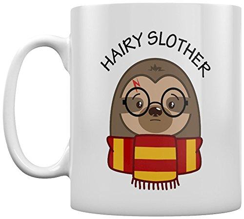 Tasse Hairy Slother blanc