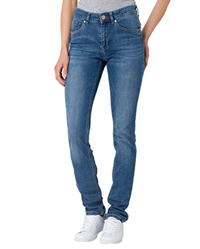 Cross Jeans Damen Slim Jeanshose Anya Blue Used