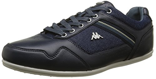 Kappa Bridgmani, Baskets Basses Homme Bleu (Dk Navy/Dk Slate/Rainy Day)