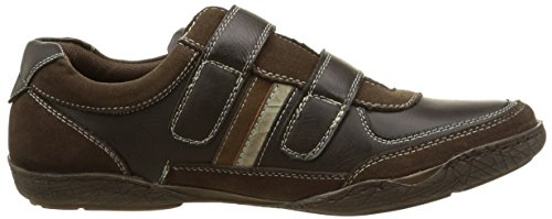 Casanova Datcha, Baskets Basses homme Marron