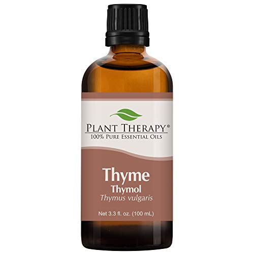 Thyme Thymol (red) Essential Oil 100 ml (3.3 oz) 100% Pure, Undiluted Therapeuti