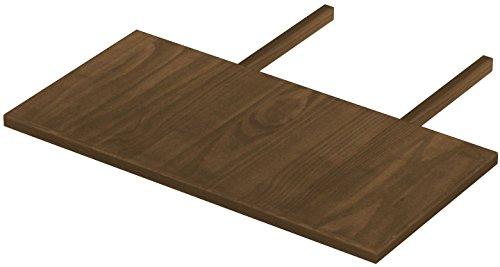 Esszimmer Nussbaum Bank (Brasilmöbel Ansteckplatten 50x100 Nussbaum Rio Classiko oder Rio Kanto - Pinie Massivholz Echtholz - Größe & Farbe wählbar - für Esstisch Tischverlängerung Holztisch Tisch Erweiterung ausziehbar)