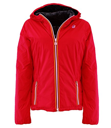 K002110F70 Kway Piumino double-face Rosso 8 S Donna