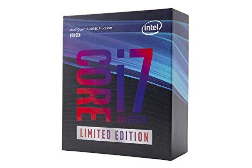 Intel BX80684I78086K - Core I7-8086K Limited Edition CPU 1151 4.0 GHz (5.0 Turbo) 6-Core 95W 14nm 12MB Overclockable No HEATSINK/Fan Coffee Lake