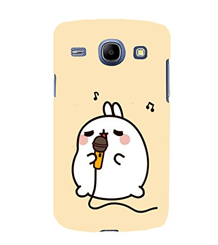 Fuson Designer Back Case Cover for Samsung Galaxy Core I8260 :: Samsung Galaxy Core Duos I8262 (Mike Rabbit Singing karaoke Music)  available at amazon for Rs.347