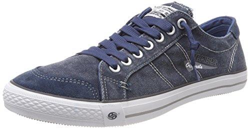 Dockers by Gerli Herren 30ST027-790670 Sneakers, Blau (dunkelblau 670), 46 EU