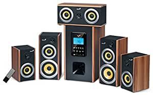 Genius SW-HF 5.1 5200 Enceintes PC / Stations MP3 RMS 20 W