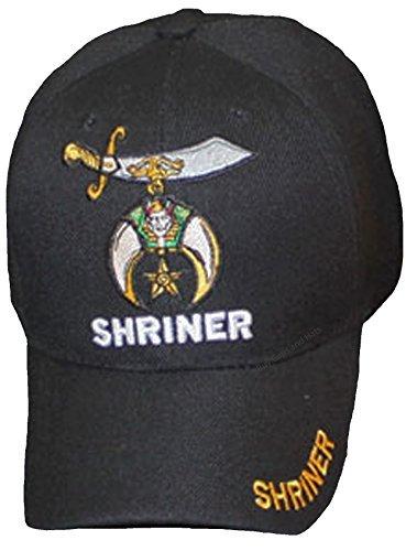 bd918f58b135 Buy Caps and Hats Shriner Baseball Cap Black Hat Logo Hat Mens Masons  Masonic Freemasons