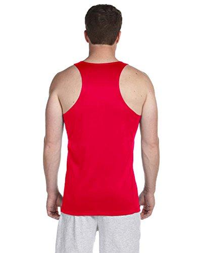 New Balance Mens Tempo Running Singlet Rouge - Rouge cerise