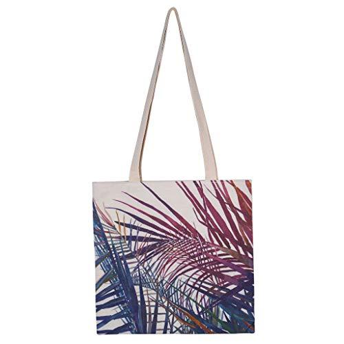 Einkaufstasche,Rifuli® Tragbare und waschbare Einkaufstasche mit Leinenmuster. Wiederverwendbare Einkaufstasche Küche Einkaufskörbe Taschen Einkaufstaschen