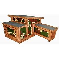 The Hutch Company Hedgehog - Casetta Catarifrangente per ibernazione e rialimentazione