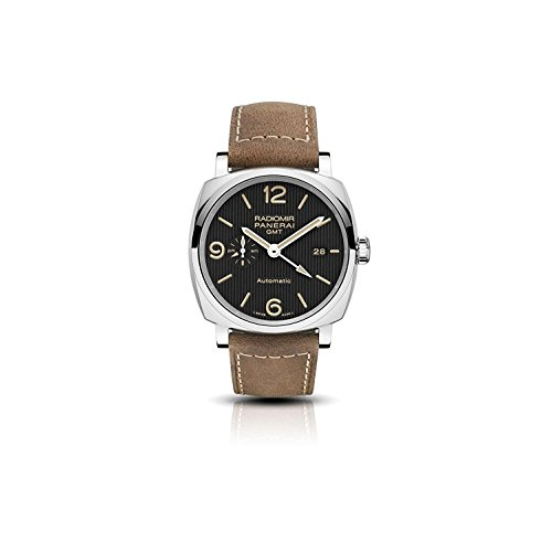 Panerai-Mens-Radiomir-45mm-Leather-Band-Steel-Case-Automatic-Watch-PAM00657