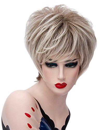 Tsnomore Chic perruque à courte ligne droite