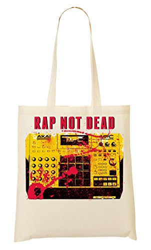 Brenos Design Rap Not Akai MPC Sampler Tragetasche Einkaufstasche -