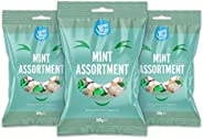 Marchio Amazon - Happy Belly - Assortimento di caramelle alla menta, 3x500g