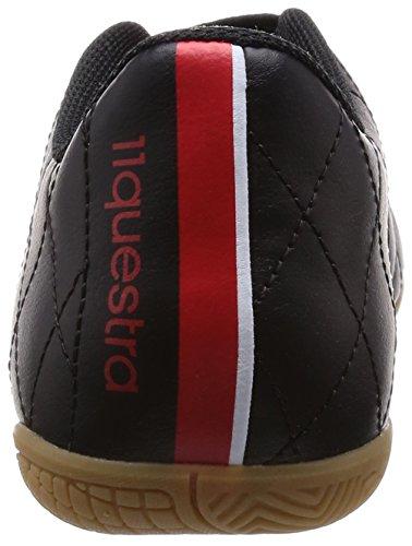 adidas 11questra in Herren Hallenschuhe Schwarz (Schwarz/Weiß/Rot 000)