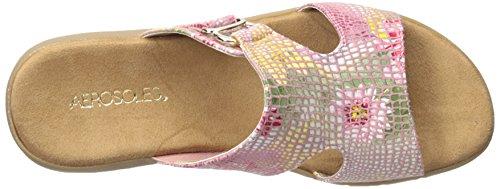 Aerosoles New Wip Stoff Sandale Pink Floral