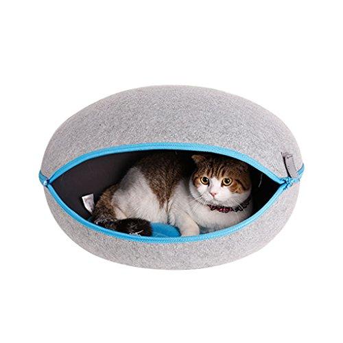 Ländlichen Stil Ei Typ abnehmbarer Katze Betten Abnehmbare Reißverschluss Pet Waterloo Boot Abdeckung Spray