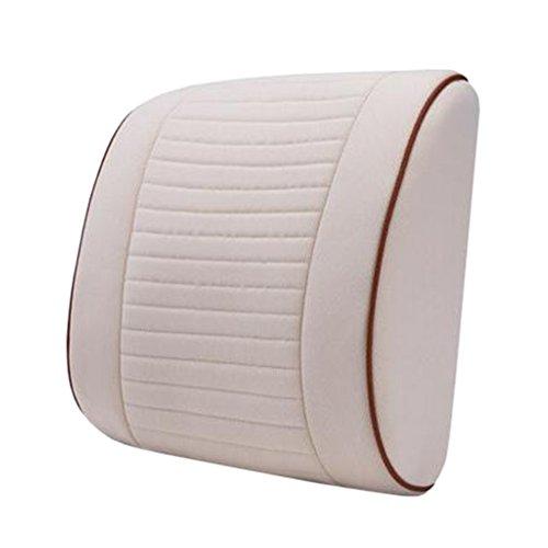 Blancho Coussin de voiture de coussin arrière élégant/soutien de taille de coussin de chaise de bureau #11