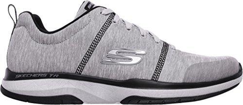 Skechers Burst TR LOCUST Men's Trainers sneaker grey, shoe size:EUR 43