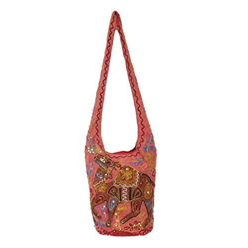 Fashion Wear Zari Paillettes discussion brodé Soirée Coton Jhola Sac