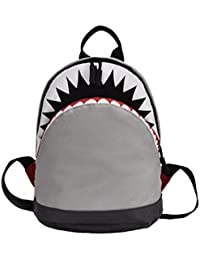STRIR 3D Tiburón Mochila Infantil Niño Mochilas Escolares Juveniles Tiburón Patrón Animales Guardería Mochila viaje bolsos Primaria Bolsa de la escuela
