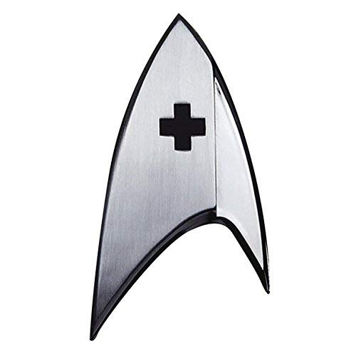 Unbekannt Quantum Mechanix Abysse Corp _ bijqmx004Star Trek-Insignia Badge: Medical, Mehrfarbig (Split-screen-tv)