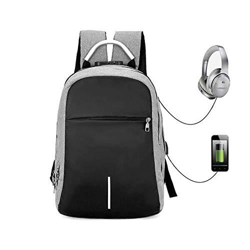 """Llmgcc 15,6""""Laptop-Rucksack mit USB-Ladeanschluss, wasserdichter Rucksack für Diebstahlsicherungen für Aktivitäten im Freien für College-Geschäftsreisen"""