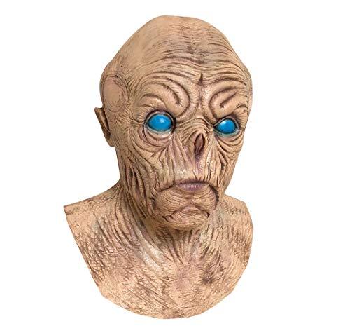Maske Zombie-Latex-Maske Resident Bösen Terror Vampir Beängstigend Bald Bad Head Cover ()